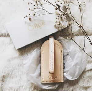 NIB. ◈ CHLOE LUGGAGE TAG